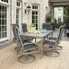 7 Piece Rectangular Outdoor Patio Dining Set - South Beach