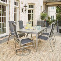 7 Piece Outdoor Patio Dining Set - South Beach