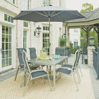9 Piece Outdoor Patio Dining Set - South Beach