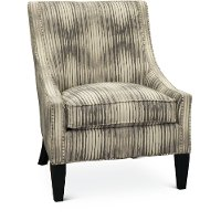 Gray and Taupe Accent Chair - Accord