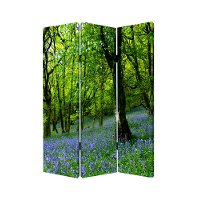 Meadows and Streams Reversible 3 Panel Screen Room Divider