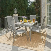 7 Piece Outdoor Patio Dining Set - Daytona
