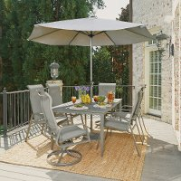9 Piece Outdoor Patio Dining Set - Daytona