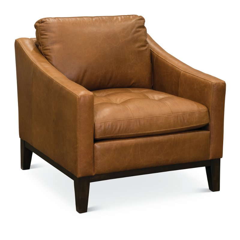 Chestnut Brown Leather Chair