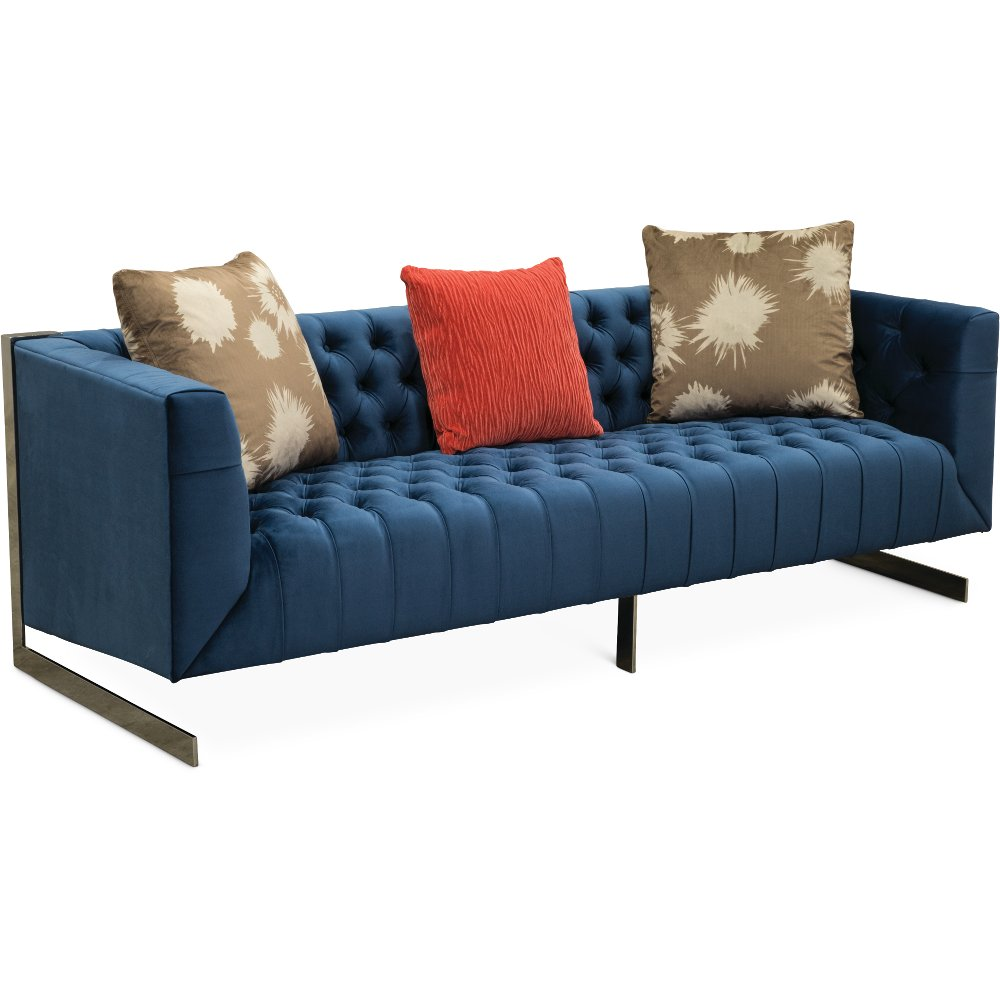 Modern Contemporary Indigo Blue Sofa   Lorimer | RC Willey Furniture Store