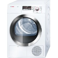 WTB86202UC Bosch 24 Inch Compact Condensation Dryer Axxis Plus - White