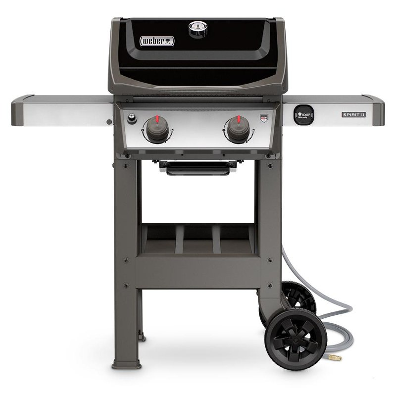 Weber Spirit II E-210 Natural Gas Grill Black