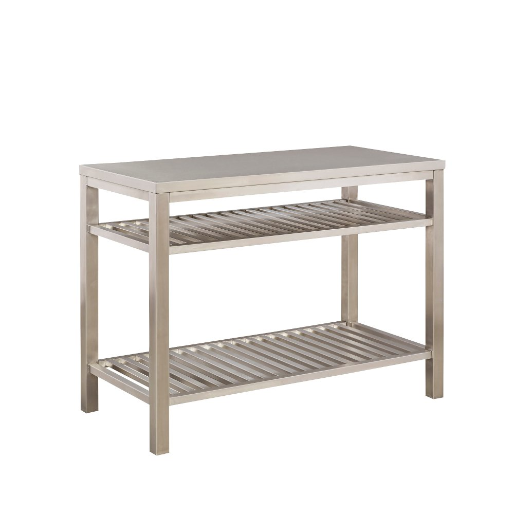 Stainless Steel Kitchen Island | RC Willey Furniture Store