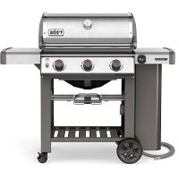66000001 Weber Genesis II S-310 Natural Gas Grill Stainless Steel