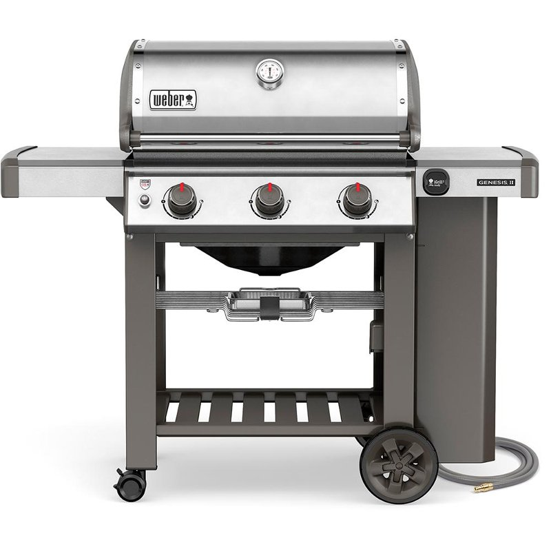 Weber Genesis II S-310 Natural Gas Grill Stainless Steel