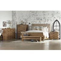 Magnolia Home Furniture 5 Piece Queen Bedroom Set - Camion