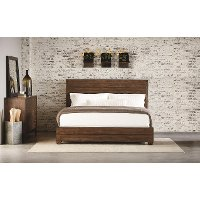 Magnolia Home Furniture Brown Queen Size Bed - Framework