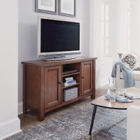 56 Inch Maple Brown TV Stand - Tahoe