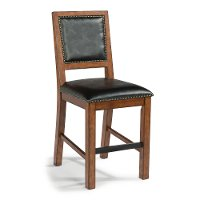 Aged Maple 24 Inch Counter Stool - Tahoe