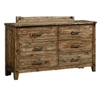 Rustic Casual Pine Youth Dresser - Nelson