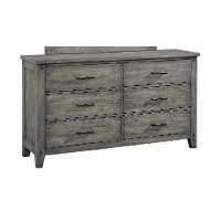 Rustic Casual Gray Youth Dresser - Nelson