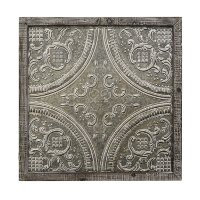 Metal Scroll Wall Art With Wood Frame