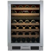 UW-24FS/S/TH-RH Sub-Zero Free Standing Wine Cooler - Stainless Steel