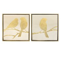 Assorted Bird Painting Framed Wall Art