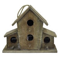 Wood Hanging Birdhouse