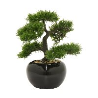 Faux Bonsai Arrangement In Pot