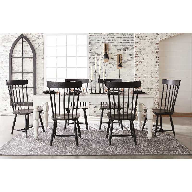 Magnolia home furniture 5 piece wellborn dining set