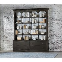 Magnolia Home Furniture Vienna Cupboard Hutch and Base