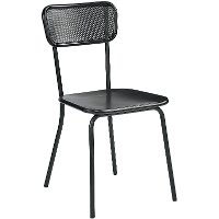 Magnolia Home Furniture Black Metal Dining Room Chair
