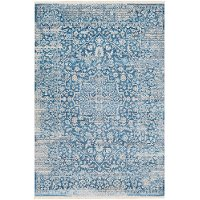EPC2300-31157 4 x 6 Small Transitional Blue Rug - Ephesians