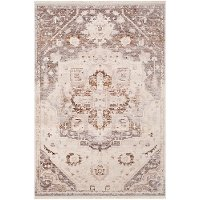 EPC2316-275 3 x 5 Small Beige, Brown and Gray Area Rug - Ephesians