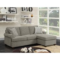 Sand Tan Chaise Sofa Bed - Tranquility