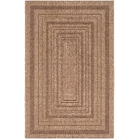 MMS2300-23 2 x 3 X-Small Camel Brown Indoor-Outdoor Area Rug - Marmaris