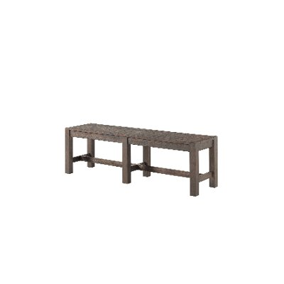 Brushed Cocoa Dining Bench - Salem
