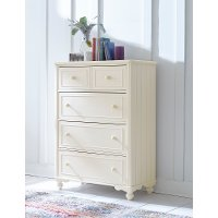 Classic Ivory White Chest of Drawers - Summerset