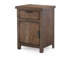 Rustic Contemporary Nightstand - Fulton County