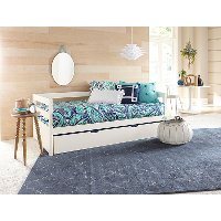 2179-010 Classic Contemporary White Daybed with Trundle - Caspian