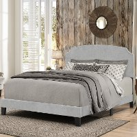 2036-460 Casual Classic Gray Full Upholstered Bed - Desi