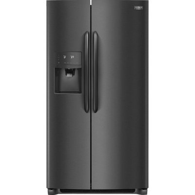 FGSS2635TD Frigidaire Gallery 25.5 cu. ft. Side by Side Refrigerator - 36 Inch Black Stainless Steel