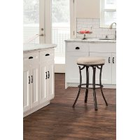 6301-826 Indoor-Outdoor Backless Swivel Counter Stool - Bryce