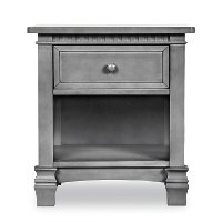 88264-SGY Stormy Gray 1-Drawer Nightstand - Santa Fe