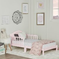 Blush Pink Toddler Bed - Sydney