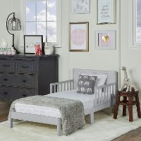 Pebble Gray Toddler Bed - Brookside