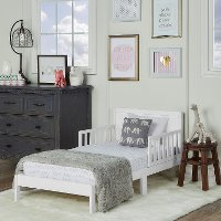 White Toddler Bed - Brookside
