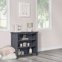 868-WG Weathered Gray Mini Bookcase - Madison