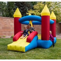 Inflatable Bounce House Castle with Slide