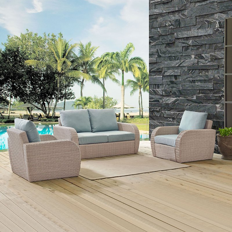 3 piece outdoor wicker patio set   st augustine rcwilley image1~800