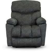 10-766/B153885/REC Indigo Blue Manual Reclina Rocker Recliner - Morrison