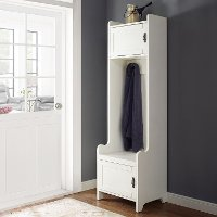 CF6016-WH White Entryway Tower - Fremont