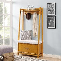 CF6015-AC Light Brown Hall Stand - Landon