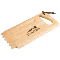 BAC454 Traeger Grill Wooden Grill Grate Scrape